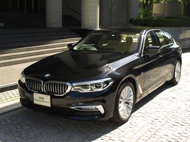 BMW 523iラグジュアリー 登録済未使用車 イノベーションPKG