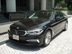 BMW523d ラグジュアリー 弊社デモカー ブラックレザーシート