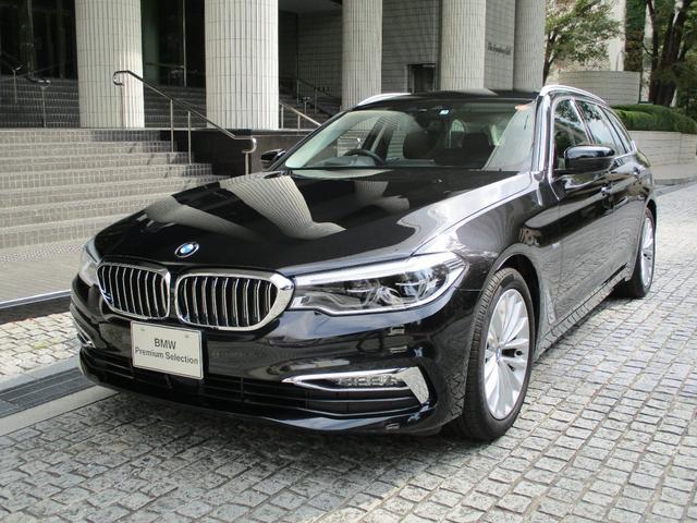 BMW 523i ツーリング ラグジュアリー 弊社デモカー 黒レザー