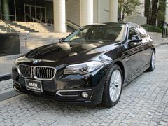 BMW523d ラグジュアリー 弊社下取車 ブラックレザーシート