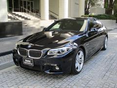 BMW528i Mスポーツ 弊社下取車ワンオーナーACCサンルーフ