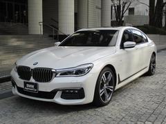 BMW750Li Mスポーツ デモカー 後席モニター サンルーフ