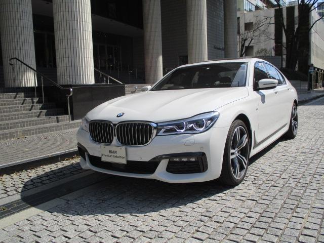 BMW 740d xDrive Mスポーツ デモカー 純正20AW