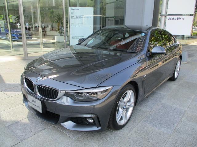BMW 420iグランクーペ Mスポーツ登録済未使用車コーラルレッド