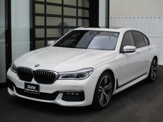 BMW 740i Mスポーツ 弊社下取ワンオーナー レーザーライト