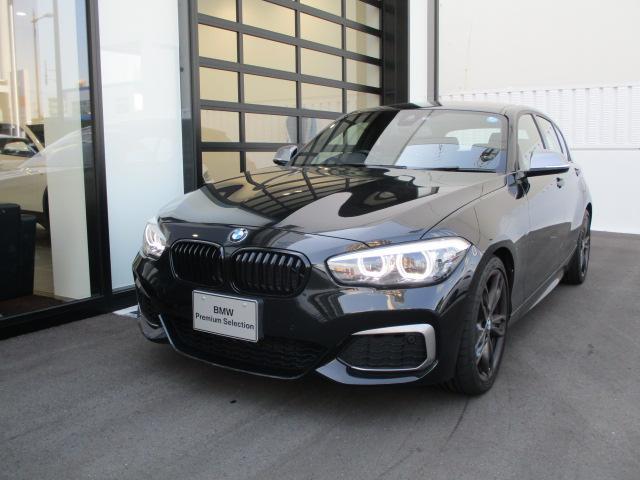 BMW M140i エディションシャドー デモカー革シートETCナビ