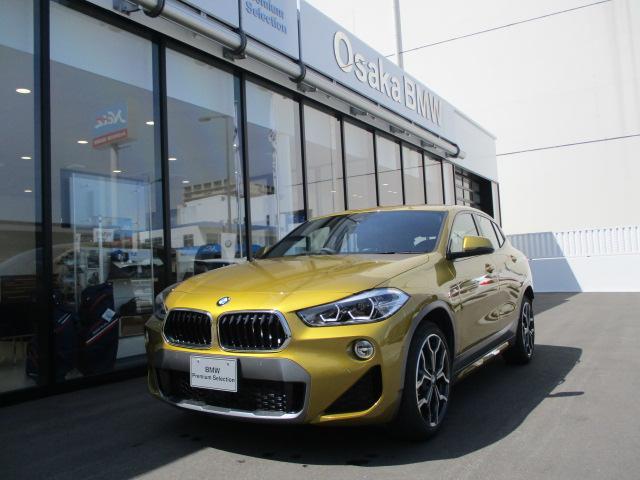 BMW sDrive18iMスポーツXハイライン革ACCコンフォート