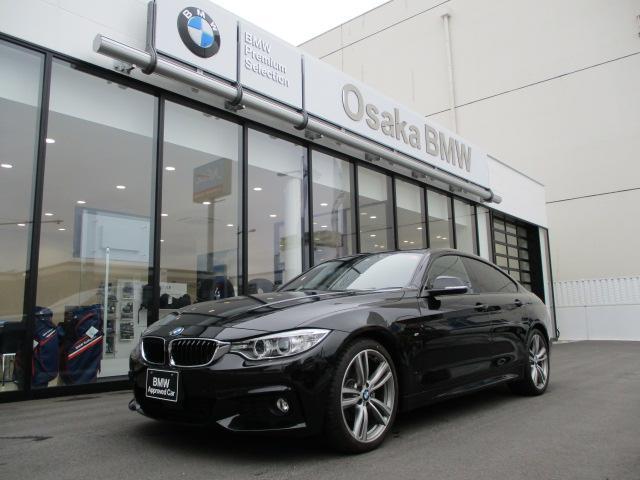BMW 420iグランクーペ Mスポーツワンオーナー純正19AW黒革