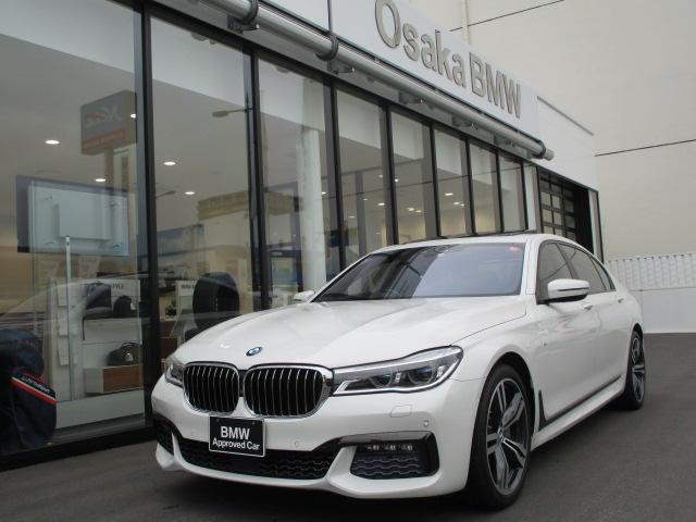 BMW 7シリーズ 750Li Mスポーツ 特選車 弊社デモカー リモートパーキング・リアモニター・ガラスサンルーフ・地デジ