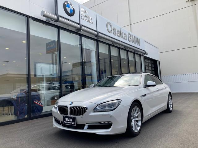 BMW 640iグランクーペLEDライトACC1オーナー全国保証SR