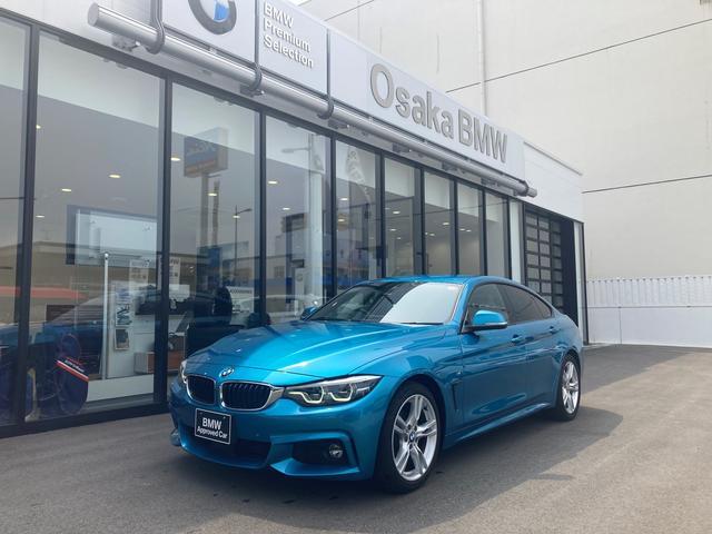 BMW 4シリーズ 420iグランクーペ Mスポーツ 後期型 弊社下取ワンオーナー・アクティブクルーズコントロール・地デジチューナー・ブラックレザー・LEDヘッドライト・認定中古車・全国保証