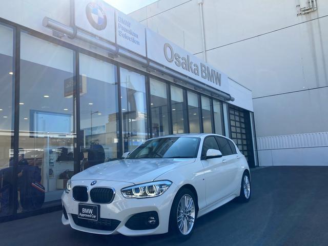 BMW 118d Mスポーツ 弊社下取ワンオーナー・コンフォートパッケージ・パーキングサポート・フロントシートヒーター・コンフォートアクセス・認定中古車