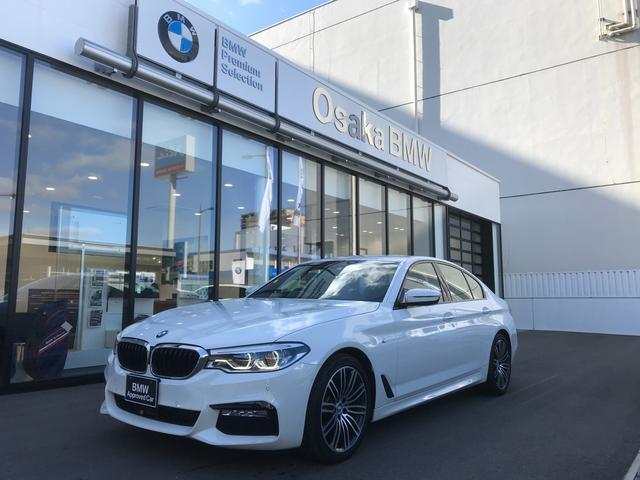 BMW 523d Mスポーツ 弊社下取ワンオーナー・アクティブクルーズコントロール・LEDヘッドライト・純正19インチアロイホイール・純正HDDナビ・純正地デジチューナー・リアビューカメラ・ETC車載器