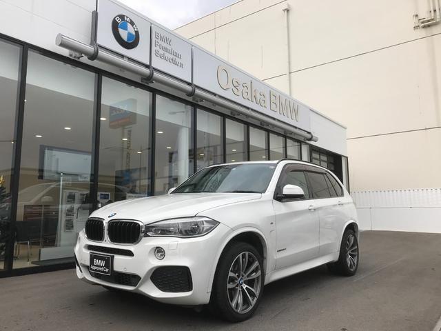 BMW xDrive 35d Mスポーツ 弊社下取ワンオーナー・セレクトパッケージ・パノラマガラスサンルーフ・後席シートヒーター・ソフトクローズドア・純正20インチAW・LEDヘッドライト・アクティブクルーズコントロール・認定中古車・全国保証