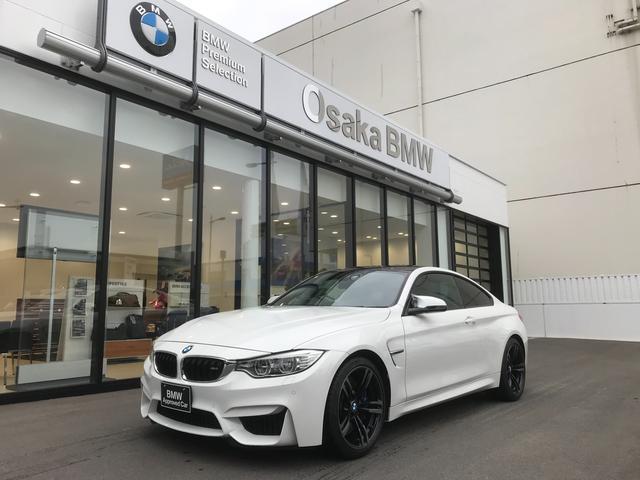 BMW M4クーペ ワンオーナー・アダプティブMサスペンション・ヘッドアップディスプレイ・純正19インチアロイホイール・純正HDDナビ・バックカメラ・地デジ・ブラックレザーシート・全国保証・認定中古車
