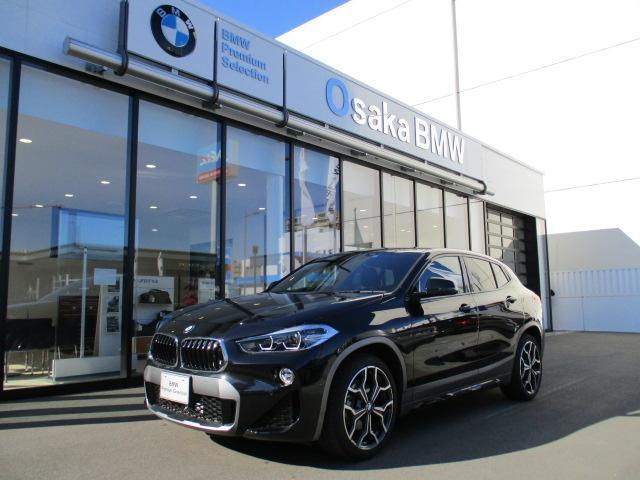 BMW sDrive 18i MスポーツX コンフォートP・電動リアゲート・フロントシートヒーター・純正10.25インチワイドナビ・バックカメラ・ETC車載器・純正19インチアロイホイール