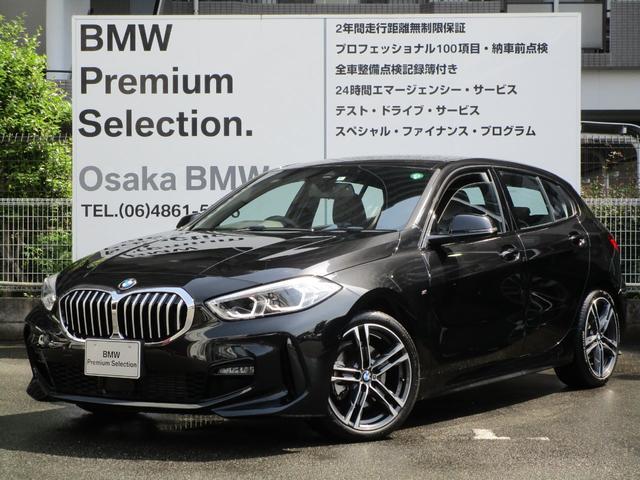 BMW 118d Mスポーツ エディションジョイ+ 弊社デモカー ナビゲーションパッケージ 衝突被害軽減ブレーキ LEDヘッドライト ルームミラー内蔵ETC2.0 運転席電動シート 純正HDDナビゲーション Bluetoothオーディオ