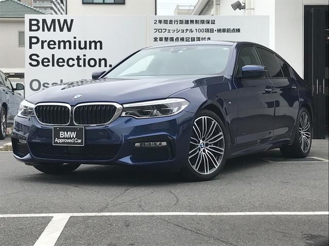 BMW 530i Mスポーツ 弊社下取りワンオーナー・イノベーションパッケージ・ヘッドアップディスプレイ・リモートパーキング・ワイヤレスチャージング・純正HDDナビ・地デジ・バックカメラ・タイヤ4本新品交換・認定中古車・全国保証