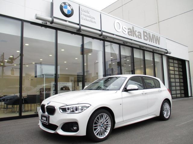BMW 118d Mスポーツ ブラックレザーシート・フロントシートヒーター・純正HDDナビ・リアビューカメラ・DVD再生機能・Bluetooth・LEDヘッドライト・認定中古車・全国保証