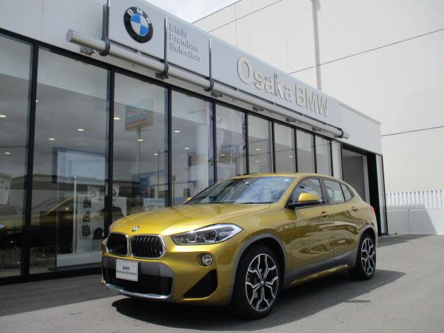 BMW xDrive 18d MスポーツX ハイラインパック 弊社デモカー・ブラックレザーシート・コンフォートパッケージ・ワイドナビモニター・フロントシートヒーター・電動リアゲート・純正HDDナビ・バックカメラ・LEDヘッドライト・全国保証