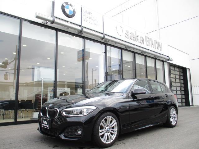 BMW 118i Mスポーツ 純正17インチAW 純正HDDナビ クルーズコントロール LEDヘッドライトDVD再生 CD再生 リア障害物センサー リアビューカメラ 社外地デジETC