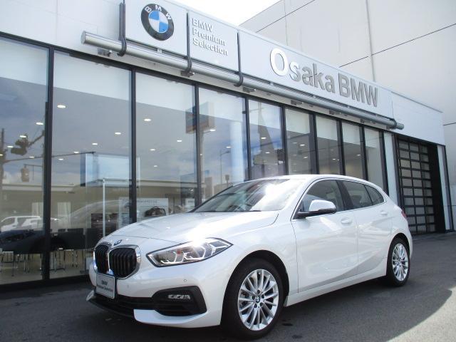 BMW 118i プレイ ハイラインパッケージ 弊社デモカー・ブラックレザーシート・アクティブクルーズコントロール・電動リアゲート・ストレージパッケージ・純正HDDナビ・バックカメラ・ETC車載器・LEDヘッドライト・純正17インチアロイホイール