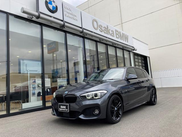 BMW 118d Mスポーツ エディションシャドー 弊社下取りワンオーナー・アップグレードパッケージ・フロント電動シート・Hi-Fiスピーカー・アクティブクルーズコントロール・純正HDDナビ・バックカメラ・LEDヘッドライト・DVD再生機能・全国保証