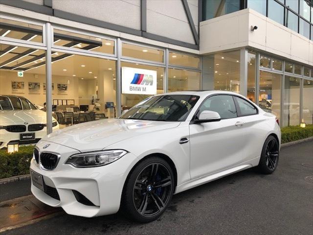 BMW M DCTドライブロジック白サンルーフ1オナ下取り車2年保証