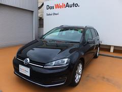 VW ゴルフヴァリアントTSIハイラインブルーモーションテクノロジー SDナビ