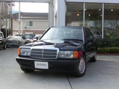 M・ベンツ190E・正規輸入車 ワンオーナー 記録簿