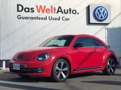 ザ・ビートルターボ VW純正ナビ ETC バックカメラ Coolsterパッケージ クルーズコントロール 障害物センサー 認定中古車保証 ディーラー車