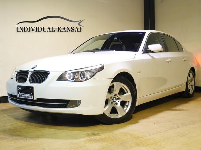 BMW 525iハイラインP 最終型 1オナ 本革 ナビ 記録簿9枚
