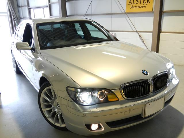 BMW 740i 禁煙 記録簿 HDDナビ 黒革 HID ETC