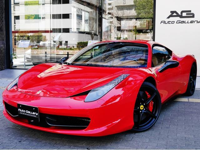 「フェラーリ」「458イタリア」「クーペ」「大阪府」の中古車