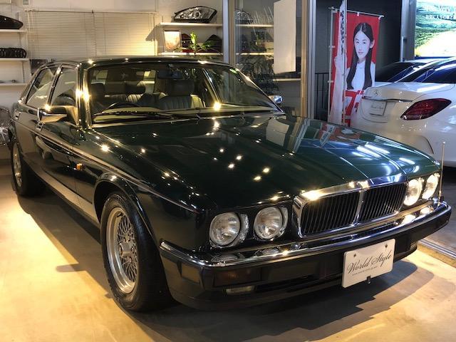 ジャガー XJ12  MT・エンジン・リアサス・ライト整備済 車検付