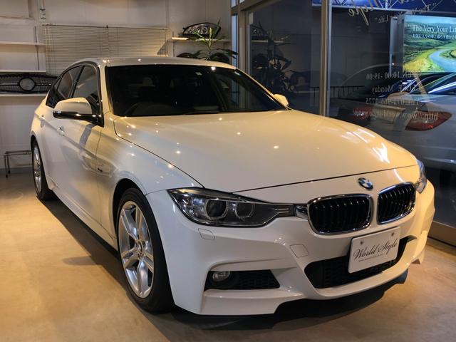 BMW 320i Mスポーツ 純正ナビ 地デジTV Bカメラ 禁煙