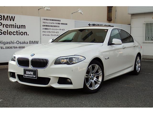 BMW 523i MスポーツパッケージSR 電動シート ウッドパネル