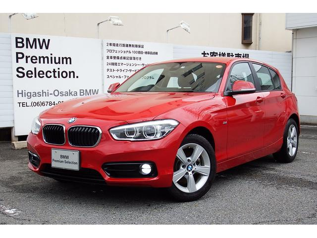 BMW 118d スポーツ試乗車コンフォートPKGパーキングサポート