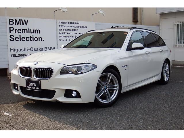 BMW 523iツーリング MスポーツACCガラスSR LEDフォグ