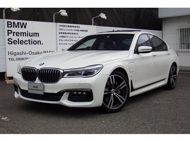 BMW 740eアイパフォーマンス Mスポーツ サンルーフ 弊社デモ