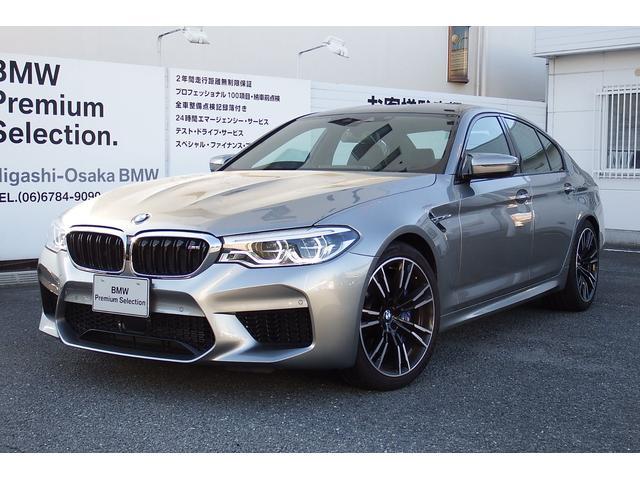 BMW M5 試乗車 コンフォートPKG ドニトングレーM