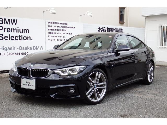 BMW 420iグランクーペ Mスポーツ 試乗車 レーンチェンジ 茶革 19AW TV