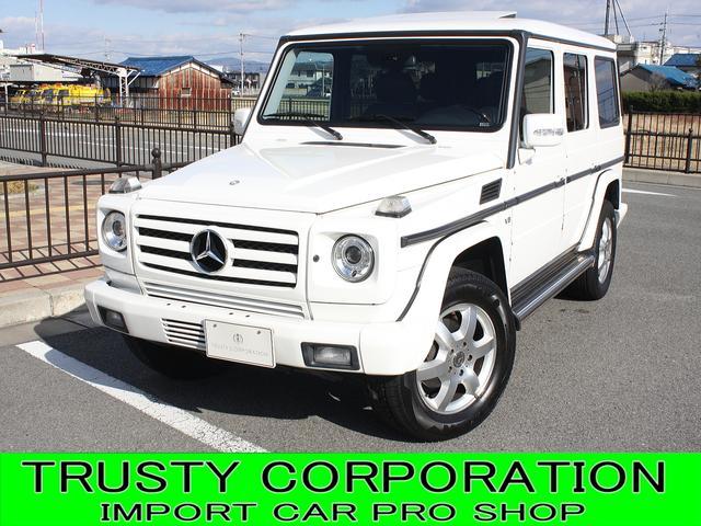 メルセデス・ベンツ G500L 4WD 左H サンルーフ HDDナビ 黒本革