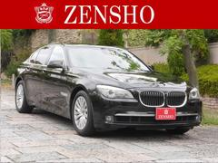 BMW740i 黒革 サンルーフ 純正ナビ パワートランク