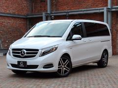 M・ベンツV220d アバンギャルドロング両側電動スライド新車保証付