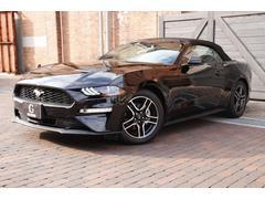 フォード マスタングコンバーチブルエコブースト ワンオーナー 新車並行
