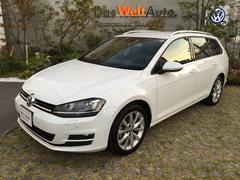 VW ゴルフヴァリアントTSIハイラインブルーモーションテクノロジー navi RC