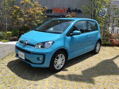 VW アップ!ハイ アップ!新車保証継承・試乗車・Rセンサ・シートヒータ