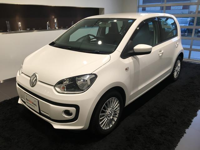 フォルクスワーゲン ハイ アップ!VW保証最長1.5年・Pナビ・シートヒーター