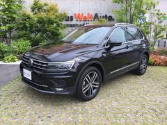 VW ティグアンTDI 4モーション ハイライン試乗車 新車保証継承 DCC